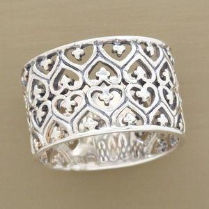 Sundance Catalog New Sterling Silver Heart Ring
